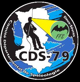 logo du cds 79 spéléo