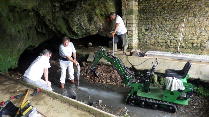 marteau piqueur chantier désob st christophe sur roc