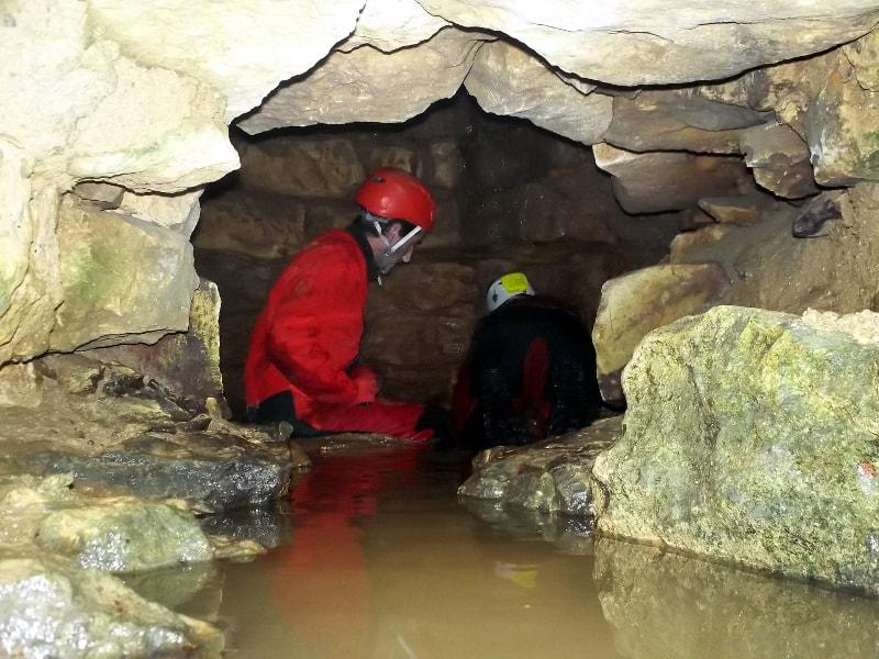 exploration puits brieuil deux sèvres spéléologie