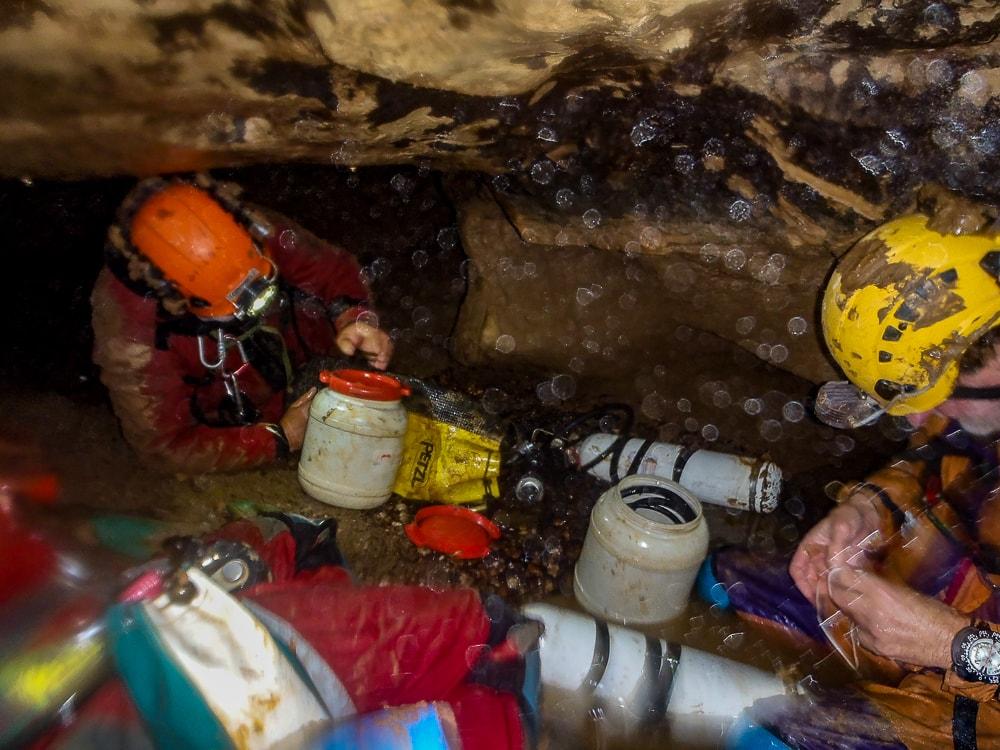 plongée souterraine st christophe sur roc