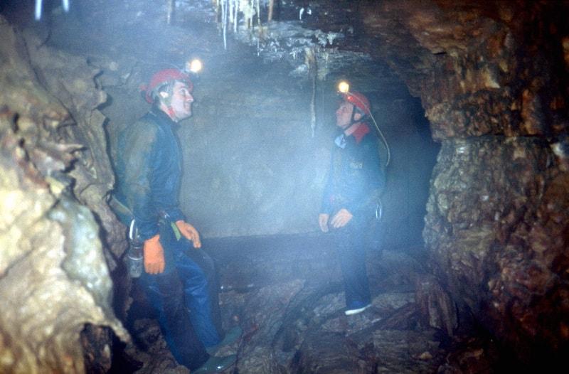 gouffre du patis Breuillac 1995 -2