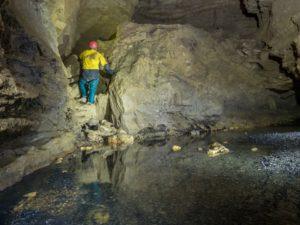 rivière souterraine de champdeniers deux sèvres spéléologie