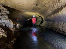 Rivière souterraine de Champdeniers - Couloir de métro