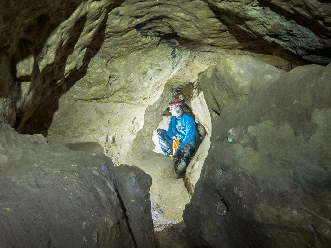 Rivière souterraine de Champdeniers - Couloir du labyrinthe