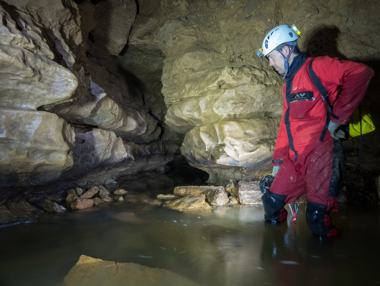 Rivière souterraine de Champdeniers - La Baignoire