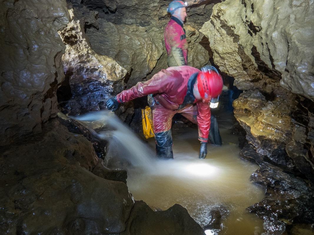 Rivière souterraine de Champdeniers - La Cascade