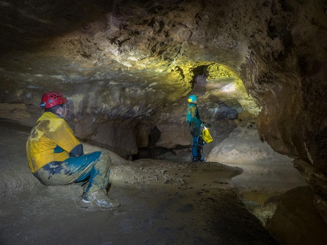 Rivière souterraine de Champdeniers - La salle des fistuleuses