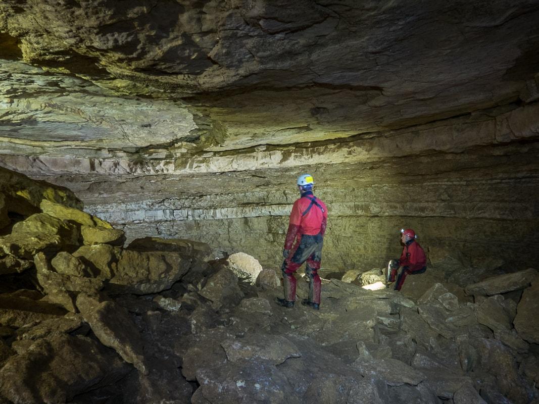 Rivière souterraine de Champdeniers - La salle ronde
