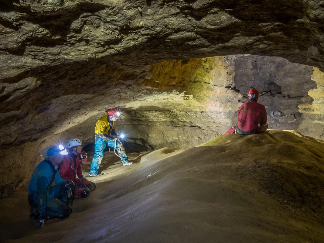 Rivière souterraine de Champdeniers - Le couloir des dunes