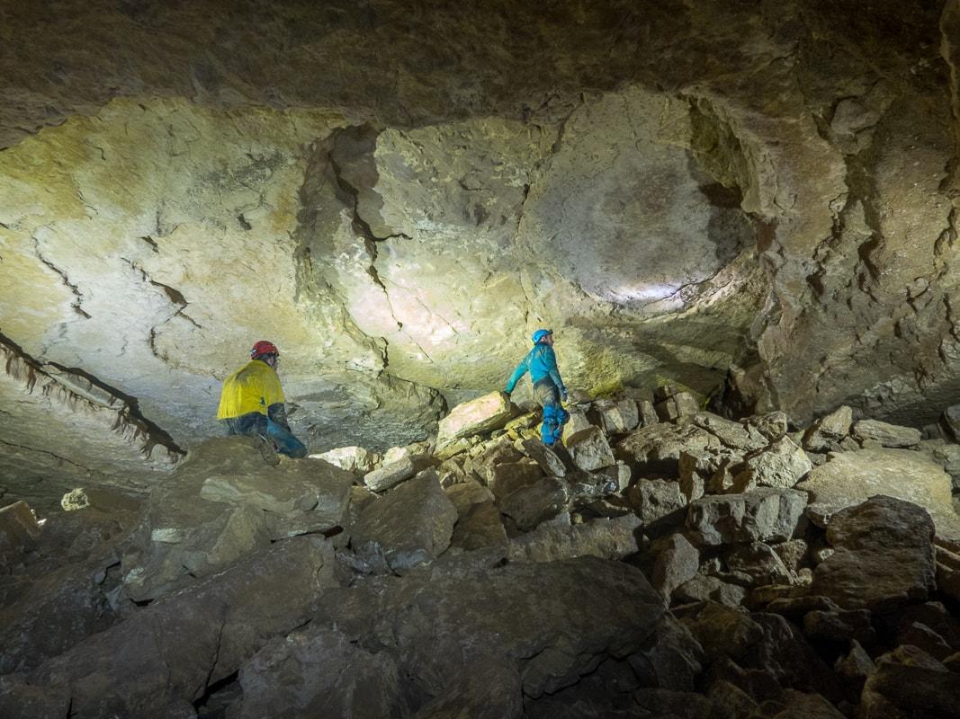 Rivière souterraine de Champeniers - La salle ronde