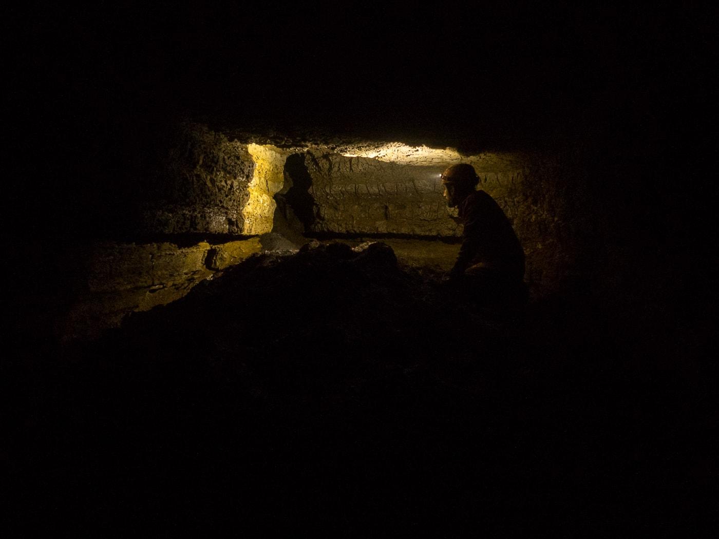 rivière souterraine champdeniers deux sèvres salle de la poudrière