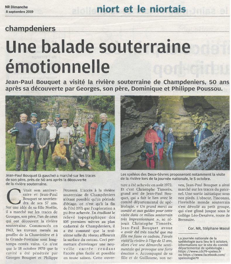 Article-NR-sur-la-sortie-anniversaire-Bouquet-à-Champdeniers-08.09.2019