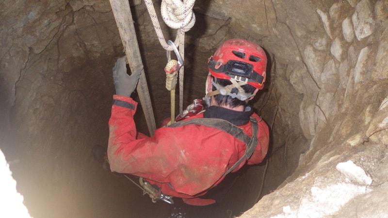 spéléologie prospection de puits deux sèvres
